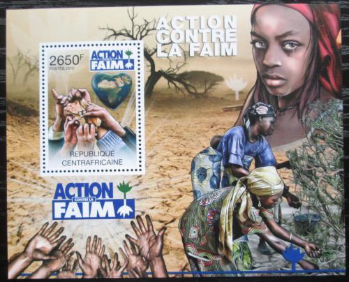 Poštovní známka SAR 2012 Boj proti hladu Mi# Block 932 Kat 12€