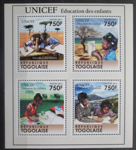 Poštovní známky Togo 2011 UNICEF Mi# 4049-52 Kat 12€