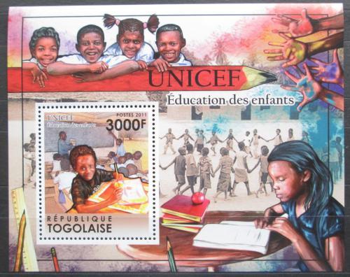 Poštovní známka Togo 2011 UNICEF Mi# Block 620 Kat 12€