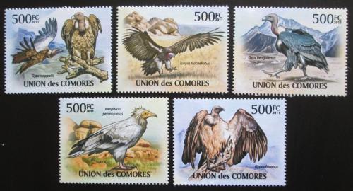 Poštovní známky Komory 2011 Supi Mi# 3028-32 Kat 12€