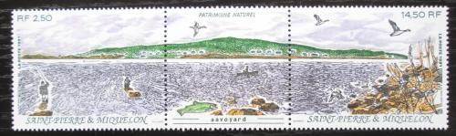 Poštovní známky St. Pierre a Miquleon 1991 Pohoøí Savoyard TOP SET Mi# 623-24
