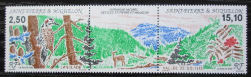 Poštovní známky St. Pierre a Miquleon 1992 Pøíroda TOP SET Mi# 643-44 Kat 9€