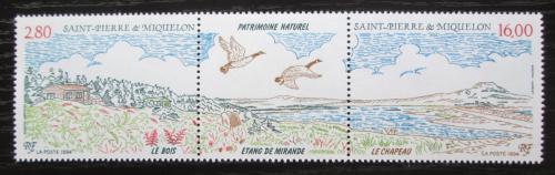 Poštovní známky St. Pierre a Miquleon 1994 Pøíroda TOP SET Mi# 681-82 Kat 10€