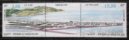 Poštovní známky St. Pierre a Miquleon 1996 Miquelon TOP SET Mi# 716-17