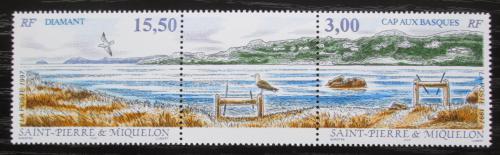 Poštovní známky St. Pierre a Miquleon 1997 Ravenel TOP SET Mi# 735-36