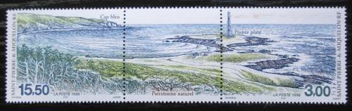Poštovní známky St. Pierre a Miquleon 1998 Mys Bleu TOP SET Mi# 764-65 Kat 10€