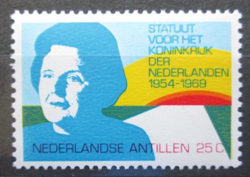 Poštovní známka Nizozemské Antily 1969 Královna Juliana Mi# 214