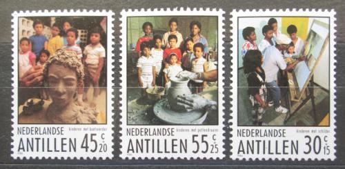 Poštovní známky Nizozemské Antily 1986 Umìní Mi# 586-88
