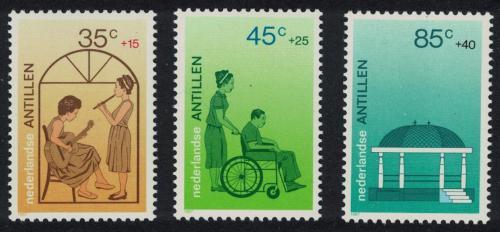 Poštovní známky Nizozemské Antily 1987 Sociální a kulturní pomoc Mi# 608-10