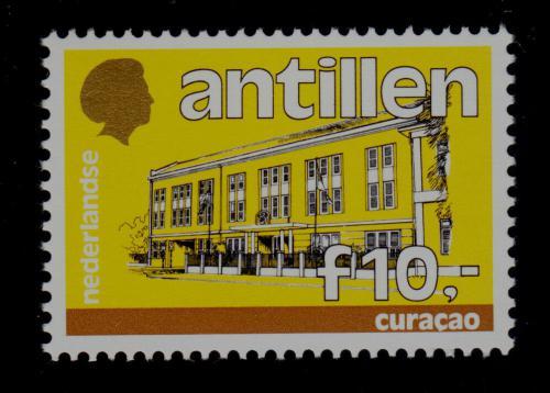 Poštovní známka Nizozemské Antily 1987 Vládní budova, Curacao Mi# 614 Kat 12€