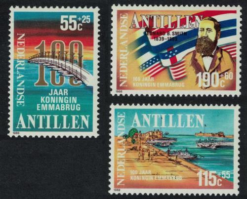Poštovní známky Nizozemské Antily 1988 Kulturní rozvoj Mi# 635-37 Kat 7.50€