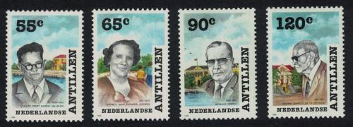 Poštovní známky Nizozemské Antily 1988 Stavby mostù Mi# 640-41