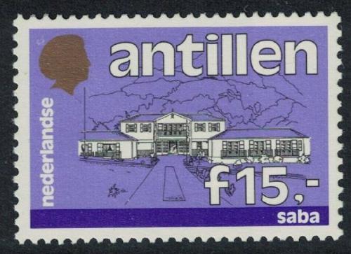 Poštovní známka Nizozemské Antily 1989 Vládní budova, Saba Mi# 655 Kat 17€