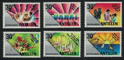 Poštovní známky Nizozemské Antily 1991 Pozdravy Mi# 717-22