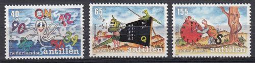 Poštovní známky Nizozemské Antily 1991 Hrající si dìti Mi# 728-30 Kat 6.50€