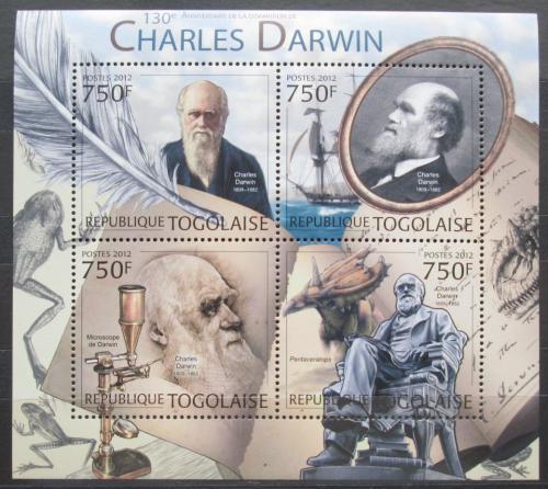 Poštovní známky Togo 2012 Charles Darwin Mi# 4523-26 Kat 12€