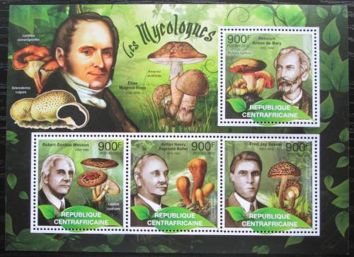 Poštovní známky SAR 2012 Houby a mykologové Mi# 3702-05 Kat 16€