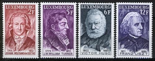 Poštovní známky Lucembursko 1977 Osobnosti Mi# 941-44