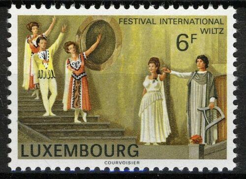 Poštovní známka Lucembursko 1977 Scéna z opery Orfeus a Eurydika Mi# 955