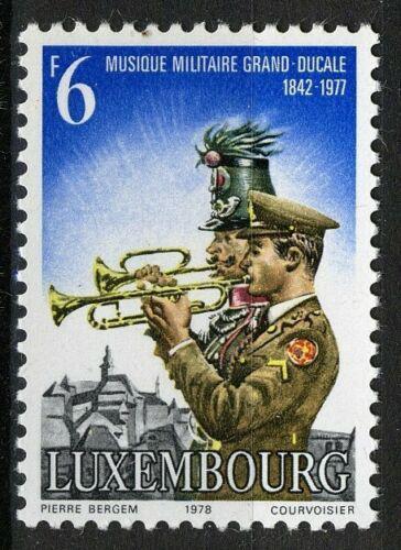 Poštovní známka Lucembursko 1978 Vojenská kapela Mi# 970