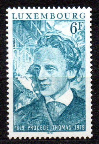 Poštovní známka Lucembursko 1979 Sidney Gilchrist Thomas, chemik Mi# 991