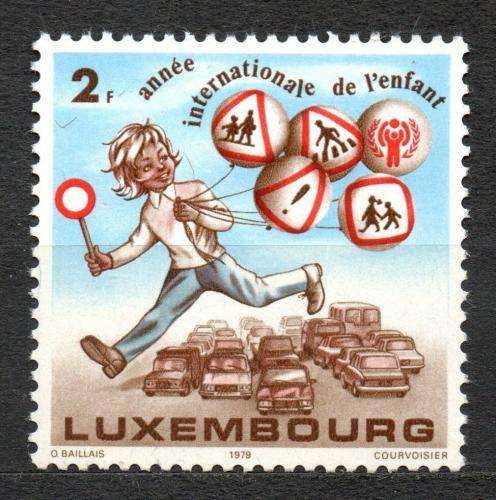 Poštovní známka Lucembursko 1979 Mezinárodní rok dìtí Mi# 996