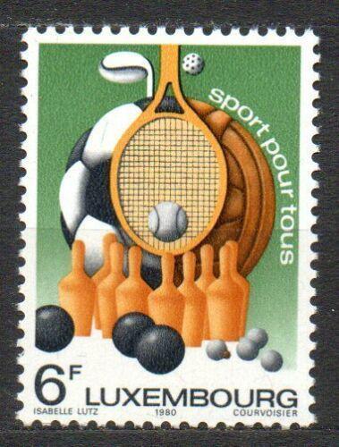 Poštovní známka Lucembursko 1980 Sport pro každého Mi# 1011