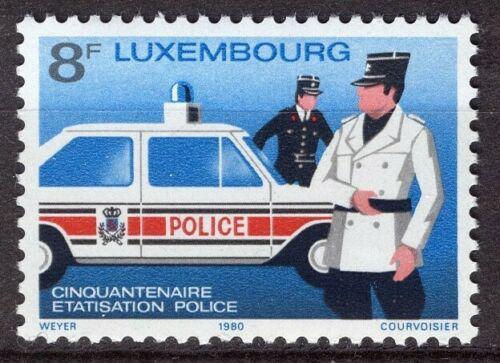Poštovní známka Lucembursko 1980 Policie Mi# 1017