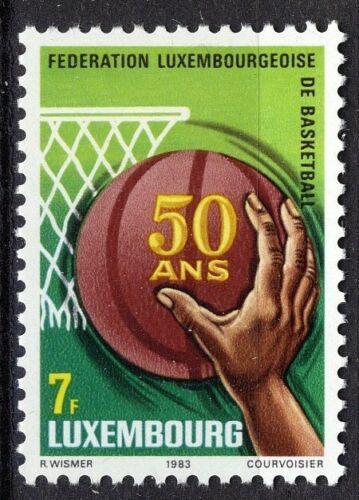 Poštovní známka Lucembursko 1983 Basketbalový svaz, 50. výroèí Mi# 1083