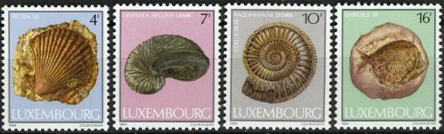 Poštovní známky Lucembursko 1984 Fosílie Mi# 1107-10