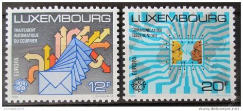 Poštovní známky Lucembursko 1988 Evropa CEPT, doprava a komunikace Mi# 1199-1200