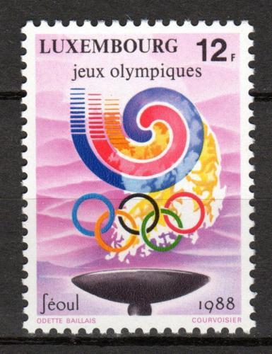 Poštovní známka Lucembursko 1988 LOH Soul Mi# 1209