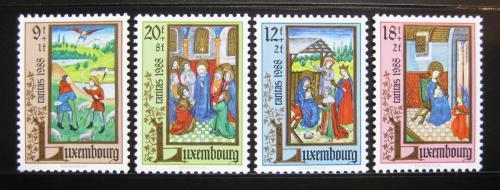 Poštovní známky Lucembursko 1988 Miniatury Mi# 1210-13 Kat 7€