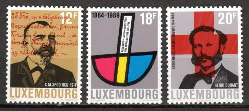 Poštovní známky Lucembursko 1989 Výroèí a události Mi# 1214-16