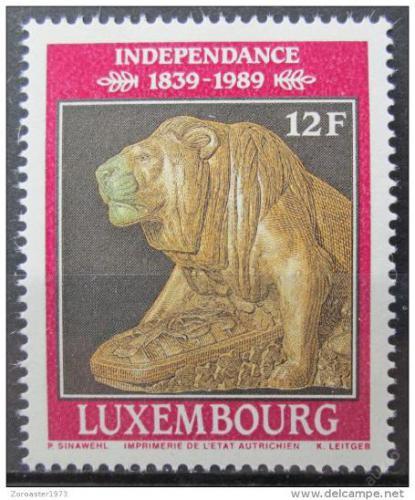 Poštovní známka Lucembursko 1989 Bronzový lev Mi# 1217