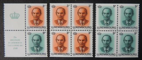 Sešitek Lucembursko 1989 Velkovévoda Jan Lucemburský Mi# MH 2 15€