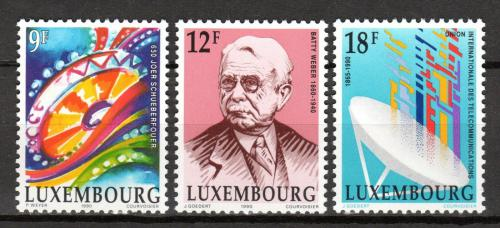 Poštovní známky Lucembursko 1990 Výroèí a události Mi# 1240-42
