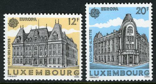 Poštovní známky Lucembursko 1990 Evropa CEPT, pošty Mi# 1243-44