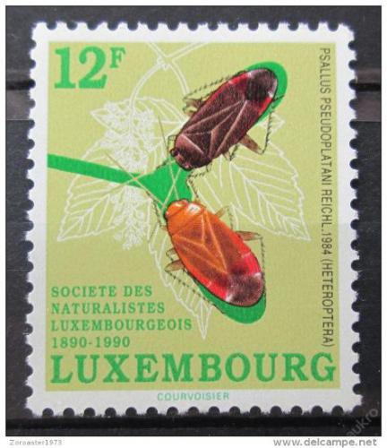 Poštovní známka Lucembursko 1990 Psallus pseudoplatani Mi# 1247