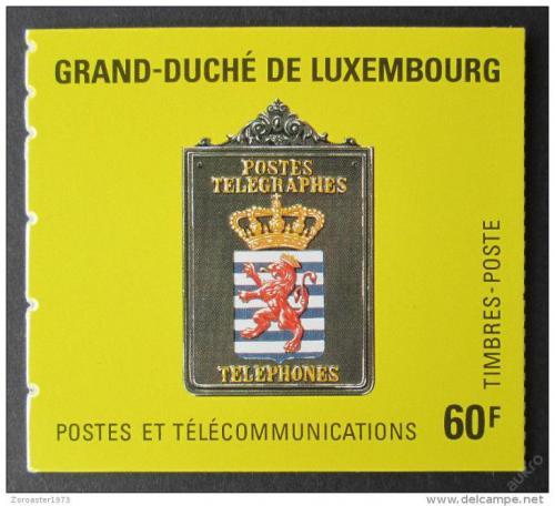 Sešitek Lucembursko 1991 Poštovní muzeum Mi# MH 3 Kat 8€