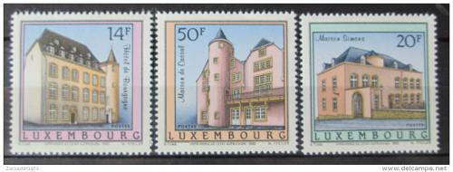 Poštovní známky Lucembursko 1993 Architektura Mi# 1320-22