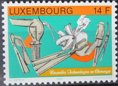 Poštovní známka Lucembursko 1993 Nové technologie v chirurgii Mi# 1323