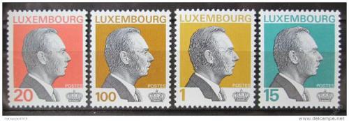 Poštovní známky Lucembursko 1994 Velkovévoda Jan Lucemburský Mi# 1334-37 Kat 9€