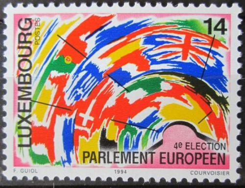 Poštovní známka Lucembursko 1994 Ètvrté volby do Evropského parlamentu Mi# 1345