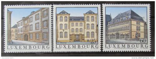 Poštovní známky Lucembursko 1994 Architektura Mi# 1349-51 Kat 5€