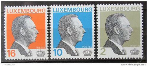 Poštovní známky Lucembursko 1995 Velkovévoda Jan Lucemburský Mi# 1357-59