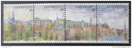 Poštovní známky Lucembursko 1995 Lucemburk Mi# 1363-66