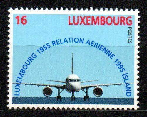 Poštovní známka Lucembursko 1995 Boeing 757 Mi# 1374