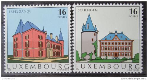Poštovní známky Lucembursko 1995 Pamìtihodnosti Mi# 1375-76