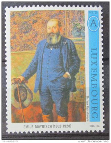 Poštovní známka Lucembursko 1996 Emile Mayrisch Mi# 1389